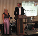 Frank Koszorus, Jr., President of the American Hungarian Federation, welcomed guests and thanked the Ball Committee and its chairperson, Erika Fedor