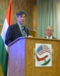 André Goodfriend, the Charge d'Affaires of the US embassy in Hungary