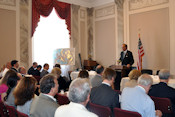 "AHF President, Frank Koszorus, moderates Capitol Hill Policy Seminar entitled, ""20 years: Three Perspectives on the Evolution of U.S. Strategic Engagement with Central and Eastern Europe."""