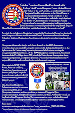 AHF 100 YEARS DISPLAY: AHF Honoring our Heroes at the Arlington National Cemetery