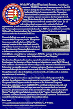AHF 100 YEARS DISPLAY: AHF relief efforts during WWII