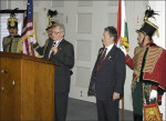 AHF 1956 Commemoration, Congressional Reception and Awards Ceremony - Prof. Gutay accepts his award