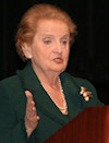 The Central and East European Coalition (CEEC), comprised of 19 national organizations representing more than 22 million Americans, including the American Hungarian Federation (AHF), discussed a number of policy issues with presidential candidate Senator Hillary Clinton's advisor, former Secretary of State Madeleine Albright