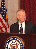 Zbigniew Kazimierz Brzezinski: Renowned Political scientist, geostrategist, and statesman who served as United States National Security Advisor. A great friend of Hungary and the Federation.