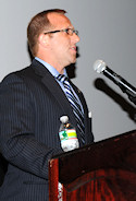 Speakers included Event Chair, James Buzgo (seen here); AHF Executive Chairman, Bryan Dawson; and New York Consul General, Ambassador Karoly Dan