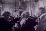 Count Apponyi pleading to the Supreme Council of the Paris Peace Conference