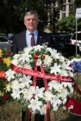 "The American Hungarian Federation was proud to participate in the wreath laying ceremony on June 12 at the Victims of Communism Memorial statue, the ""Goddess of Democracy,"" a replica of statue erected by Chinese dissidents in Tiananmen Square in 1989."