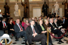 AHF members join President Bush and distinguished guests in the US Capitol in honor of Hungary's 1848 democratic revolution led by Louis Kossuth.