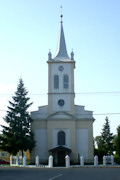 Vaján (or Vojany in Slovak after annexation) is in the Kassa District (Kosice). In 2001, out of 797 residents, 560 were Hungarian, 172 Slovak, and 36 Gypsy. The Hungarian Reformed Church (Magyar Reformatus Templom) is seen here