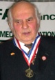 Dr. János Horváth, MP, 2006 recipient of The Colonel Commandant Michael Kovats Medal of Freedom from the American Hungarian Federation