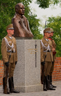 Honor Guards at the Col. Koszorus Memorial