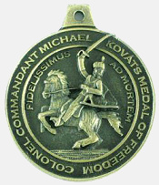 AHF's Michael Kovats Medal of Freedom